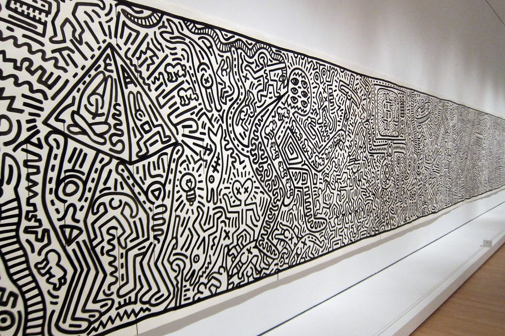 Keith Haring Exhibition at the TATE GALLERY in Liverpool