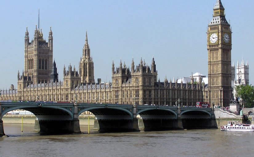 file image, houses of parliament and River Thames