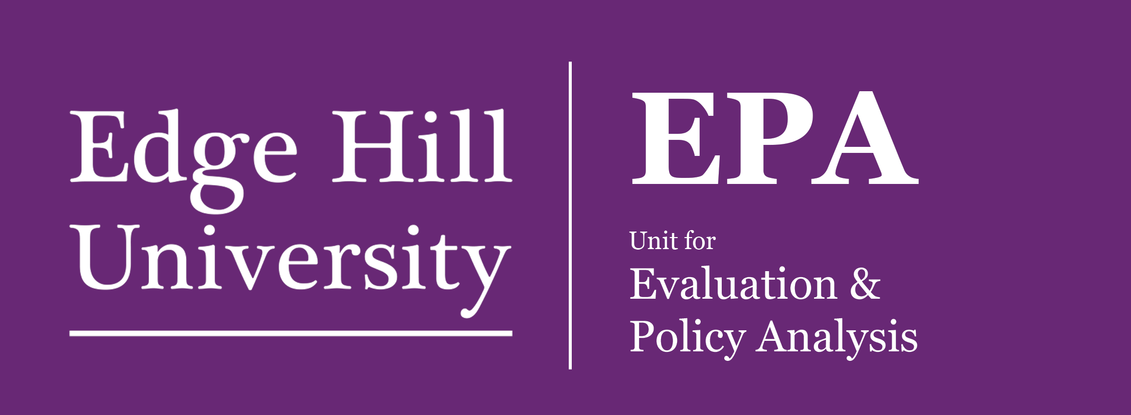 Evaluation and Policy Analysis Research Unit logo