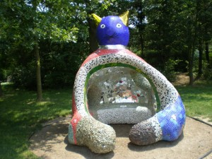 Art Niki de Saint Phalle- cat