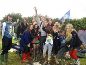 Me and my friends at Leeds 2010
