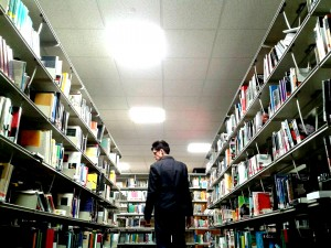 me in library 2