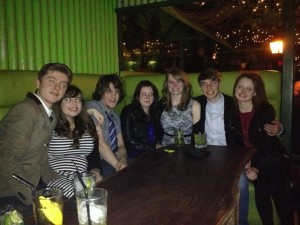 And some of my lovely uni friends
