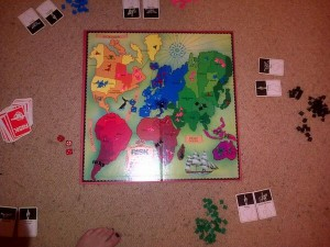 Our latest game of Risk