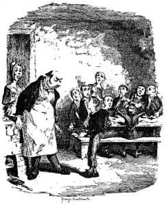 An illustration from Oliver Twist