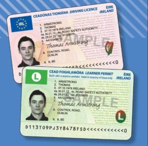 Irish Driving License