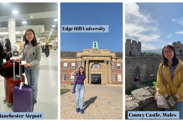 'New Beginning': My first week at Edge Hill