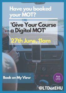Have you booked your MOT?