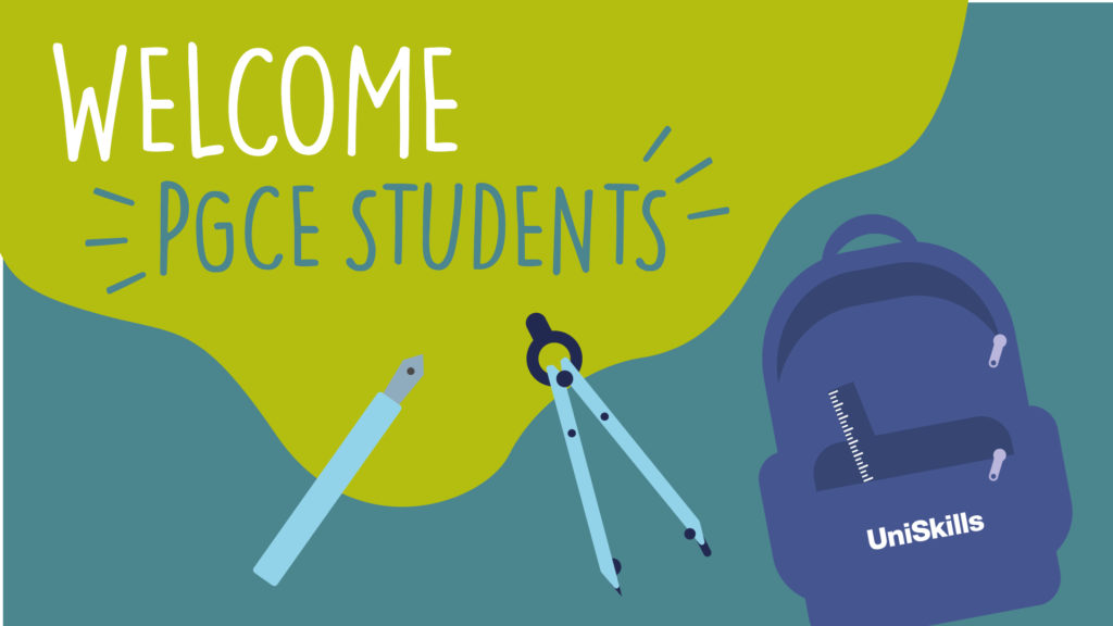 Welcome PGCE students.