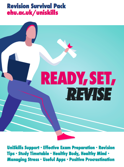 Cover image of the Ready, Set, Revise revision pack.