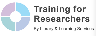 Training for Researchers logo